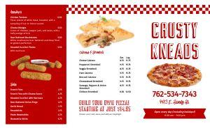 Essential Pizza Takeout Menu
