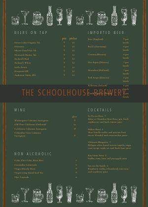 Alehouse Pub A4 Menu