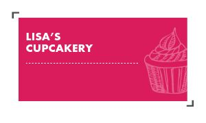 Cupcakery Owner Business Card
