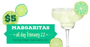 Margarita Special Facebook Post