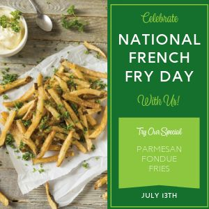 Special Fries Instagram Post