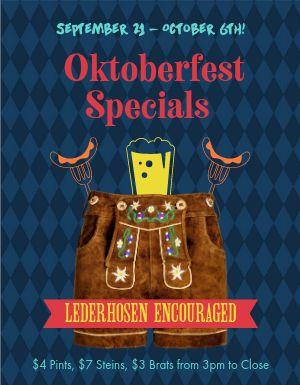 Oktoberfest Fall Flyer