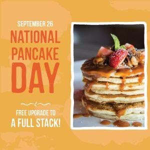 Pancake Special Instagram Post