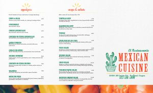 Mexican Bell Peppers Takeout Menu