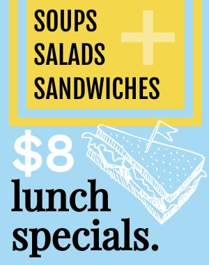 Lunch Specials Sandwich Board