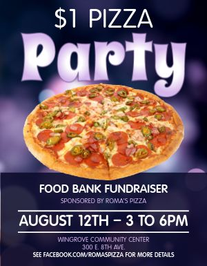 Pizza Event Flyer