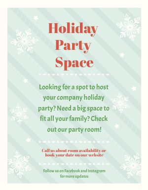 Holiday Promo Flyer