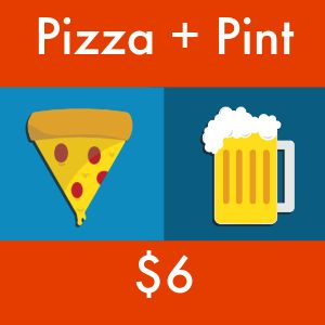 Pizza and Beer Instagram Post