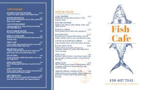 Seafood Cafe Takeout Menu