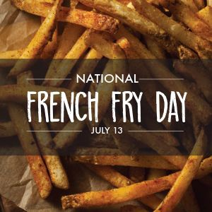 National French Fry Day Instagram Post