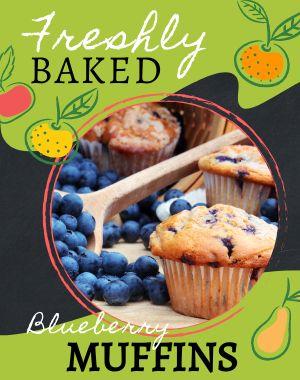 Breakfast Fruits Poster