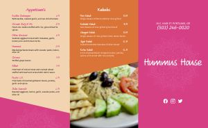 Hummus Middle Eastern Takeout Menu