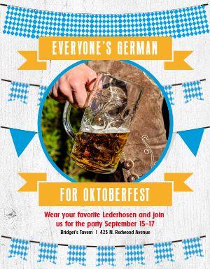 Oktober Promotional Flyer