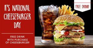 Cheeseburger Special Facebook Post