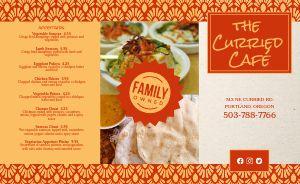 Indian Cuisine Cafe Takeout Menu
