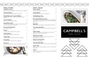New Fine Dining Folded Menu