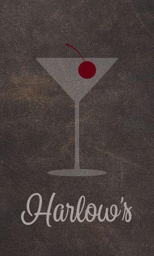 Restaurant and Bar Business Card