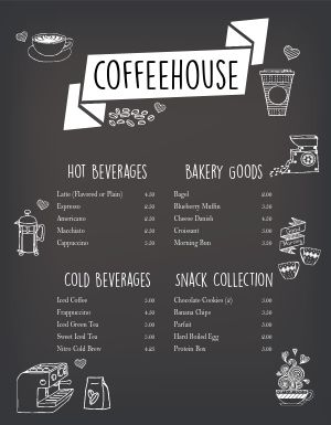 Coffee Fade Menu