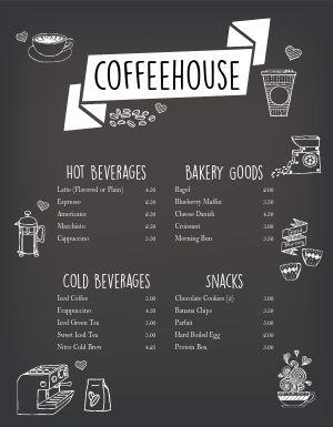 Coffee Fade Menu