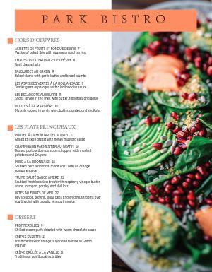 French Salad Menu