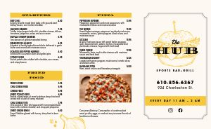Pizza Sports Bar Takeout Menu