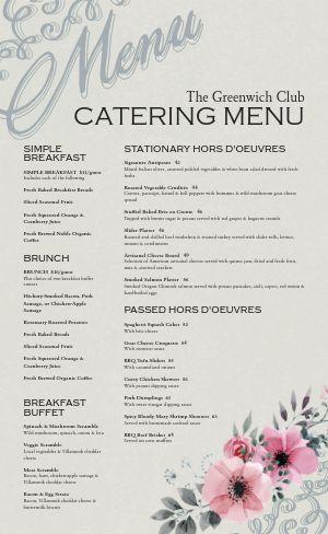 Banquet Catering Menu