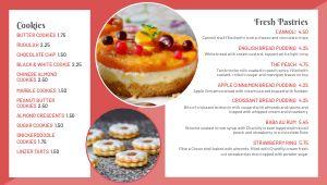 Bakery Digital Menu Board