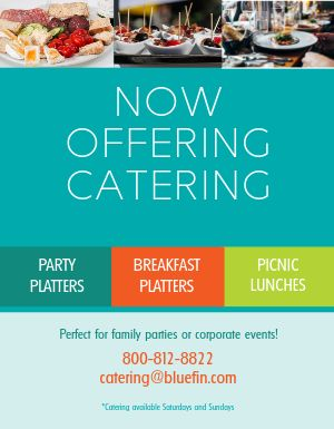 Corporate Catering Flyer