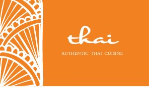 Thai Bistro Business Card