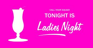 Ladies Night Event Facebook Post
