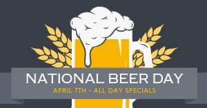 National Beer Day Facebook Post