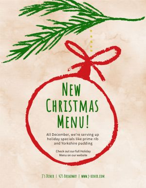 Christmas Promo Flyer