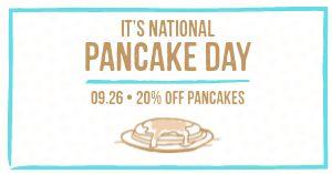 National Pancake Day Facebook Post