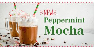 Peppermint Mocha Facebook Post