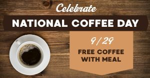 Free Coffee Facebook Post