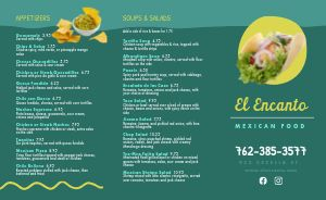 Lime Mexican Takeout Menu