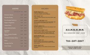 Sandwich Squares Deli Takeout Menu