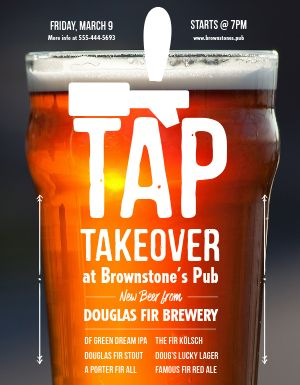 Tap Takeover Flyer
