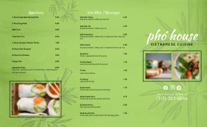Pho Vietnamese Takeout Menu