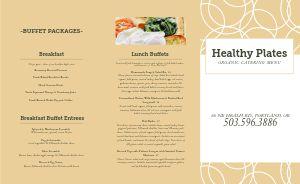 Organic Catering Takeout Menu