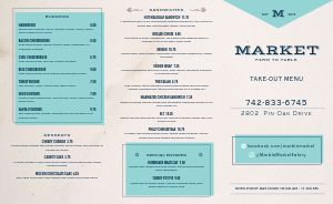 Marble Family Takeout Menu