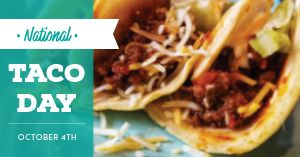 National Taco Day Facebook Post