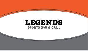 Sports Bar Business Card