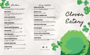 Gourmet Irish Takeout Menu