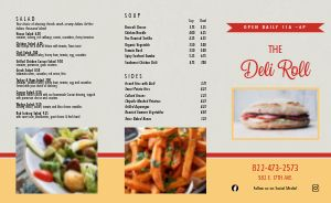 Essential Deli Takeout Menu