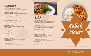 Kebab House Takeout Menu