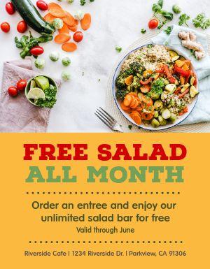 Salad Special Flyer