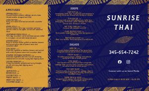 Navy Thai Takeout Menu