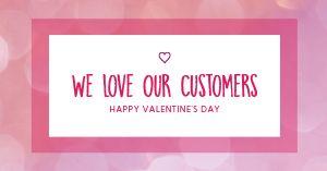 Valentines Love Facebook Post