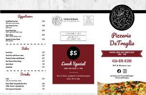 Pizza Menu Mailer